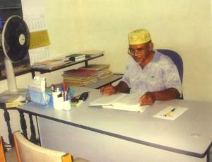 Haji Misman dalam pejabat
